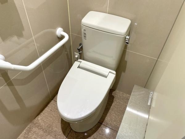 トイレ全景。工事前。
