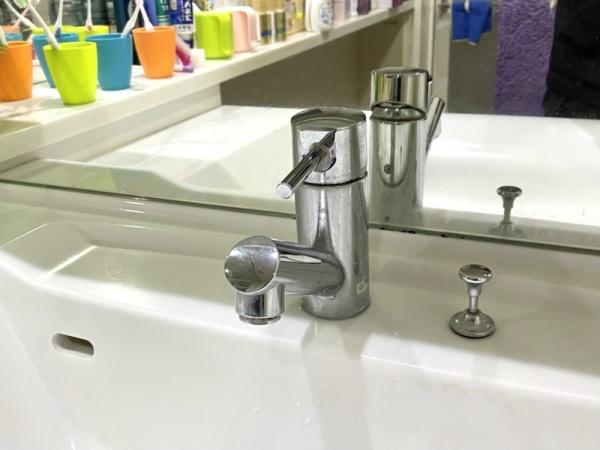 洗面台既設蛇口