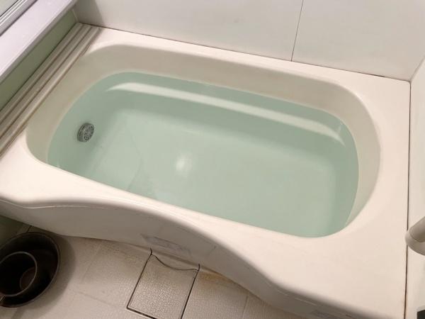 湯はりテスト中。異常無し。